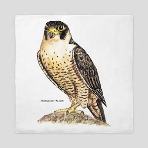 Peregrine Falcon Bird Queen Duvet