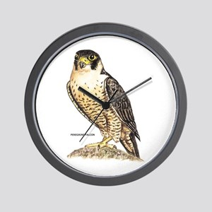 Peregrine Falcon Bird Wall Clock