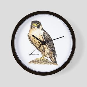 Peregrine Falcon Bird Wall Clock