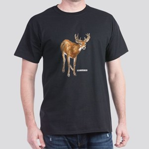 White Tailed Deer Dark T-Shirt