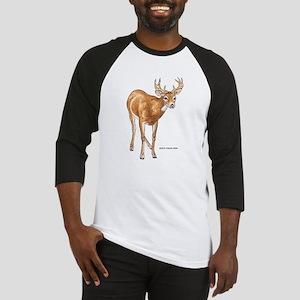 White Tailed Deer Baseball Jersey