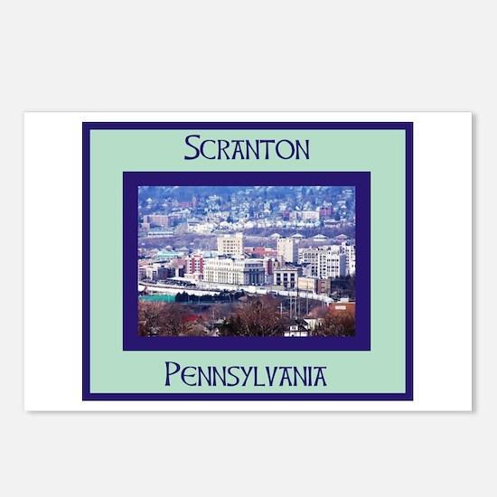 SCRANTON Postcards (Package of 8)