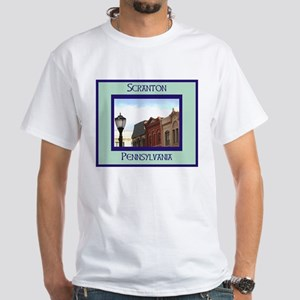 SCRANTON White T-Shirt