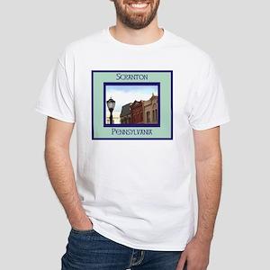 SCRANTON White T-Shirt