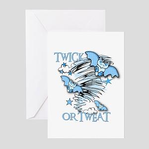 TWICK OR TWEAT Greeting Cards (Pk of 10)