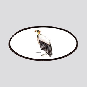 King Vulture Bird Patches