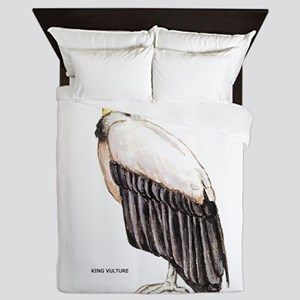 King Vulture Bird Queen Duvet