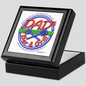 Dads Bar&Grill Keepsake Box