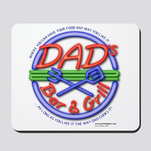 Dads Bar&Grill Mousepad