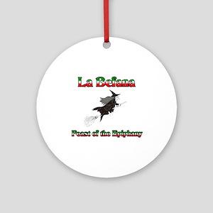 La Befana Ornament (Round)