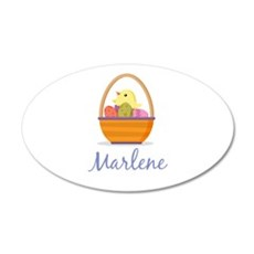 Easter Basket Marlene Wall Decal