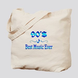 90s Best Music Tote Bag