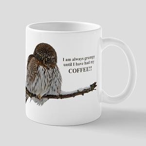 Grumpy Coffee Owl Mugs