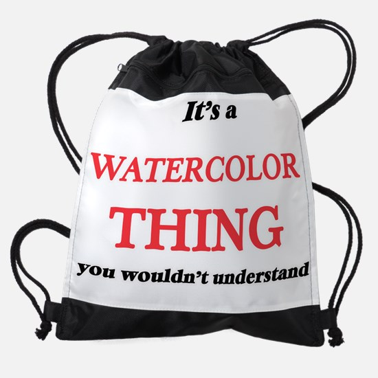 It's a Watercolor thing, you wo Drawstring Bag