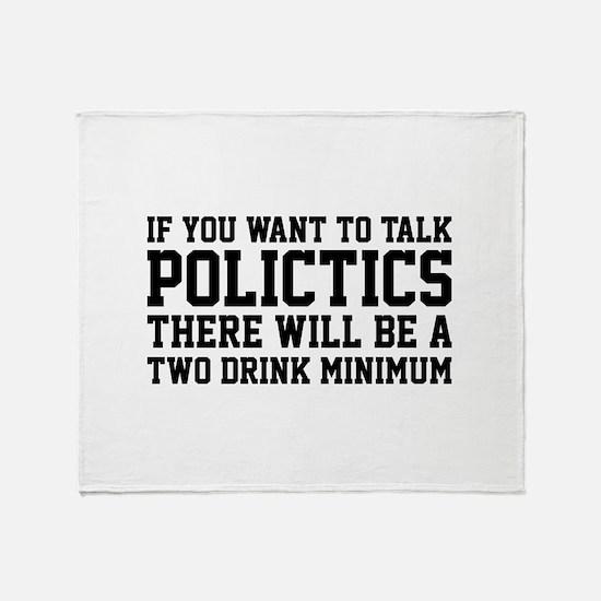 If you want to talk politics.. Stadium Blanket