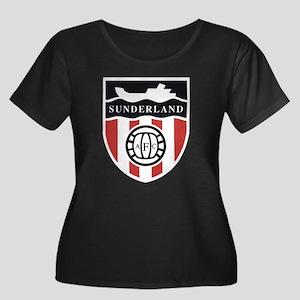 Sunderland AFC Ship Plus Size T-Shirt