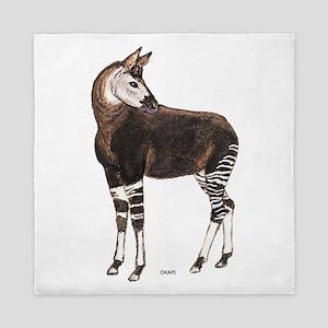 Okapi Animal Queen Duvet
