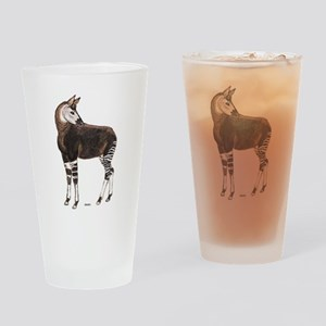 Okapi Animal Drinking Glass