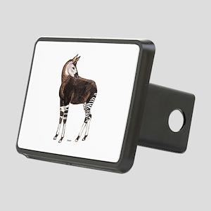 Okapi Animal Rectangular Hitch Cover