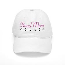 Band Mom Music Notes Baseball Cap