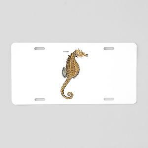 Seahorse Marine Animal Aluminum License Plate