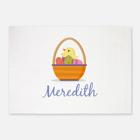Easter Basket Meredith 5'x7'Area Rug
