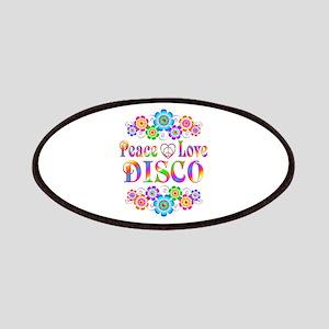 Peace Love Disco Patch