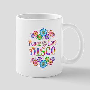 Peace Love Disco 11 oz Ceramic Mug