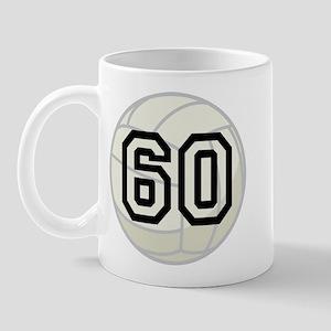 Volleyball Player Number 60 Mug