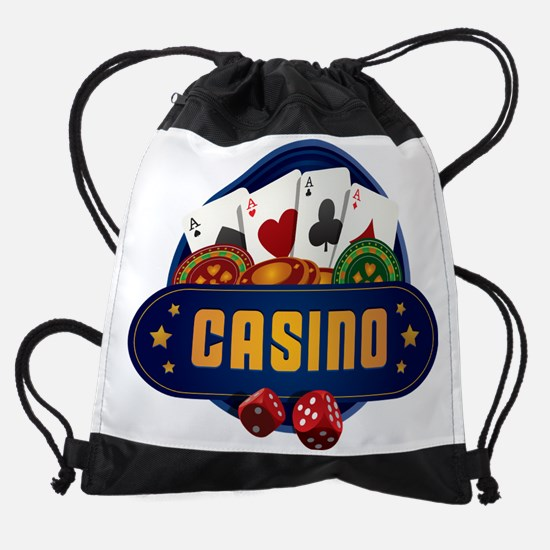 Casino Drawstring Bag