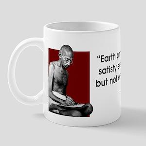 Earth provides... Mug