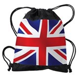 British flag Drawstring Bag