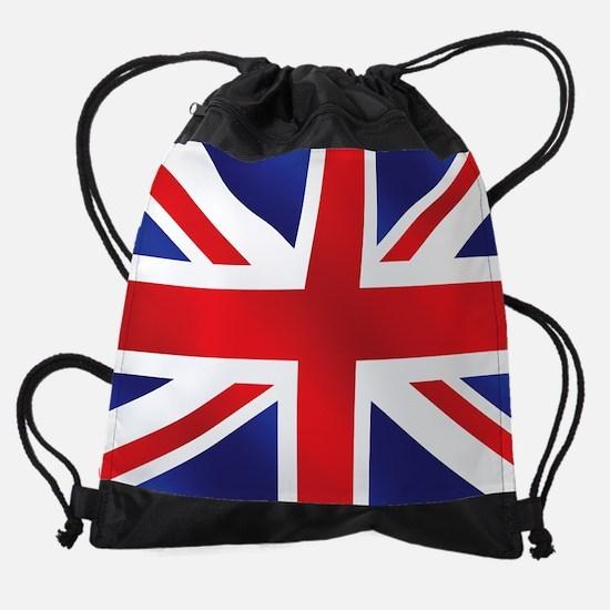 Union Jack UK Flag Drawstring Bag