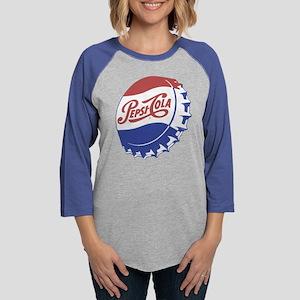 Pepsi Bottle Cap Womens Baseball Tee