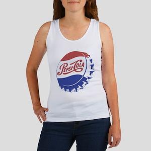 Pepsi Bottle Cap Tank Top