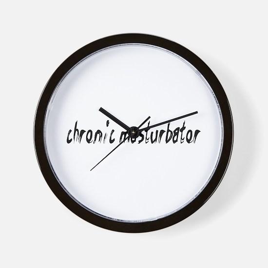 Chronic Masturbator Wall Clock