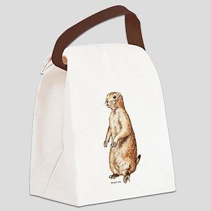 Prairie Dog Canvas Lunch Bag
