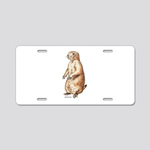 Prairie Dog Aluminum License Plate