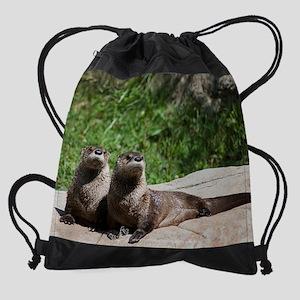otter1calprt Drawstring Bag
