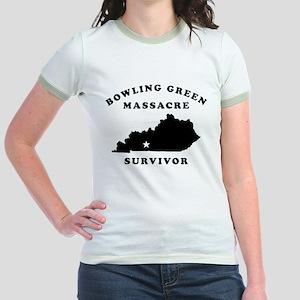 Bowling Green Massacre Survivor Jr. Ringer T-Shirt