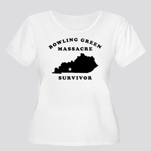 Bowling Green Women's Plus Size Scoop Neck T-Shirt