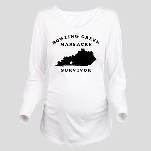 Bowling Green Massac Long Sleeve Maternity T-Shirt