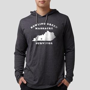 Bowling Green Massacre Survivor Mens Hooded Shirt