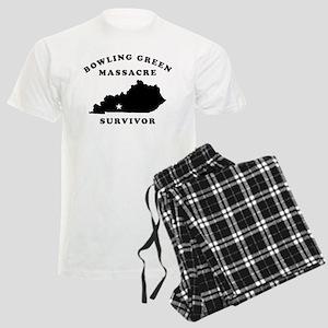 Bowling Green Massacre Surviv Men's Light Pajamas