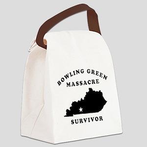 Bowling Green Massacre Survivor Canvas Lunch Bag