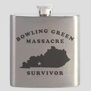 Bowling Green Massacre Survivor Flask