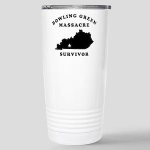 Bowling Green Mas 16 oz Stainless Steel Travel Mug