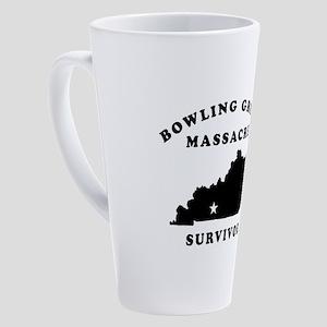 Bowling Green Massacre Survivor 17 oz Latte Mug