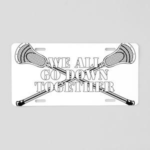 Lacrosse Goodnight Siagon Aluminum License Plate