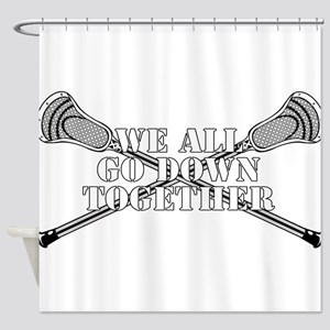 Lacrosse Goodnight Siagon Shower Curtain